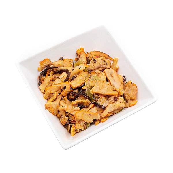 Seasoned Squid Salad, 3 oz 4