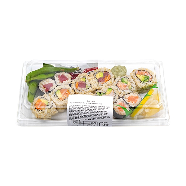 Sushi Combo, 9 oz 3