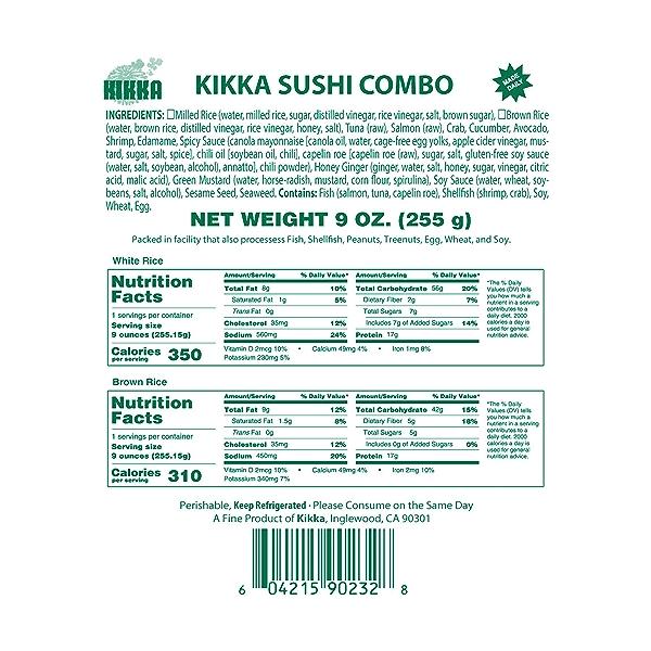 Sushi Combo, 9 oz 5