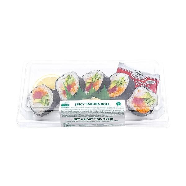 Spicy Sakura Roll, 7 oz 3