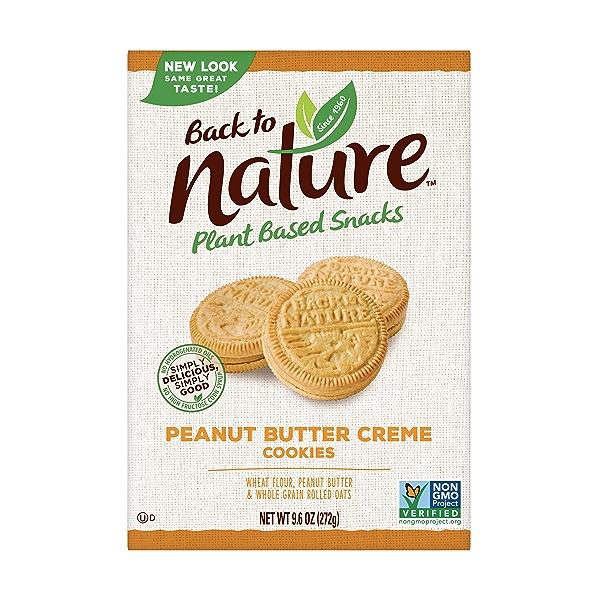 Peanut Butter Sandwich Crème Cookie, 9.6 oz 1