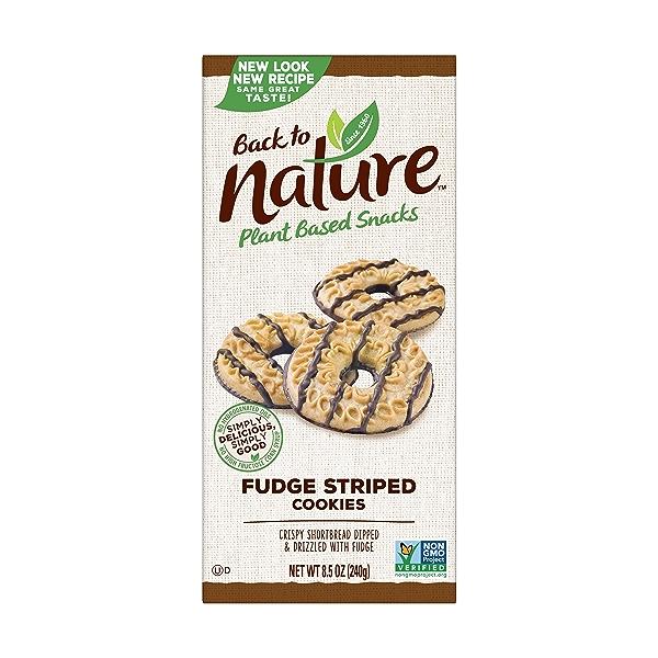 Fudge Striped Cookies, 8.5 oz 1