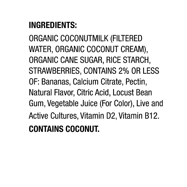 Yogurt Coconut Strawberry Banana, 5.3 oz 2