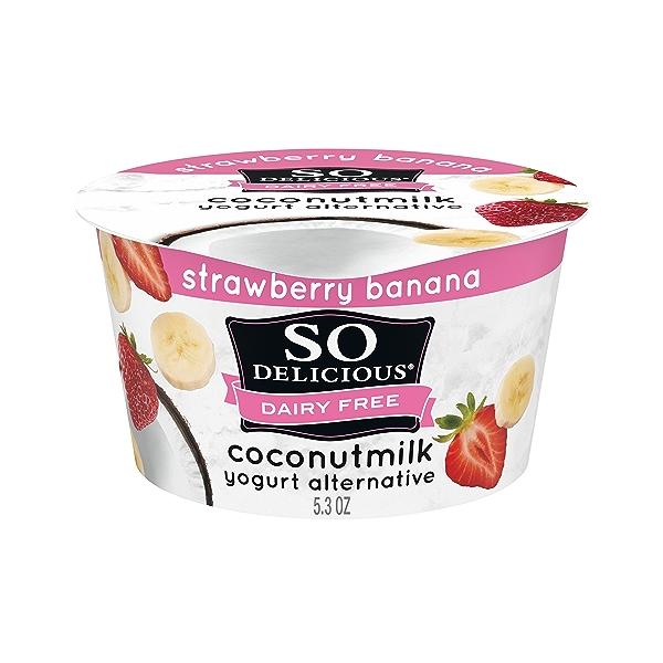 Yogurt Coconut Strawberry Banana, 5.3 oz 1