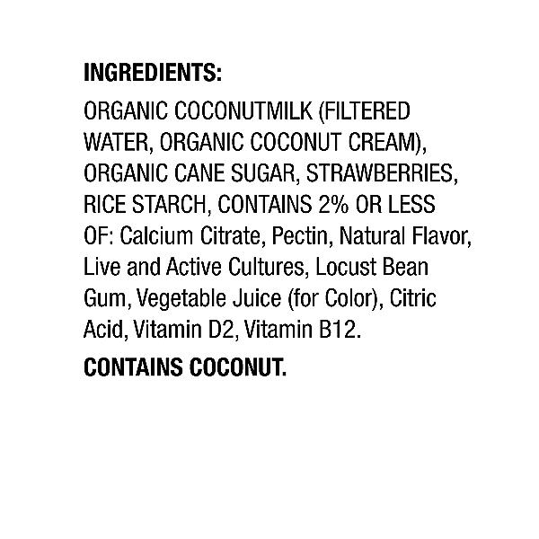 Yogurt Coconut Strawberry, 5.3 oz 2