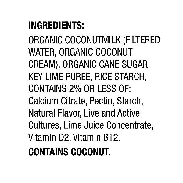 Yogurt Nondairy Coconut Milk Key Lime, 5.3 oz 2