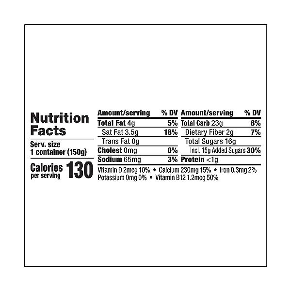 Yogurt Nondairy Coconut Milk Key Lime, 5.3 oz 3