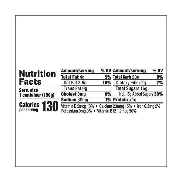 Yogurt Nondairy Coconut Milk Peach, 5.3 oz 3