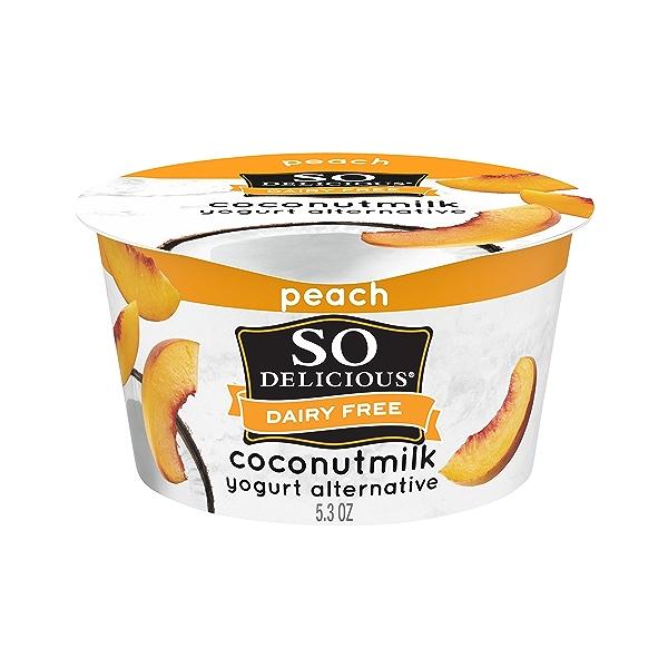 Yogurt Nondairy Coconut Milk Peach, 5.3 oz 1
