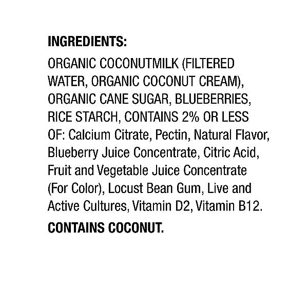 Yogurt Blueberry, 5.3 oz 2