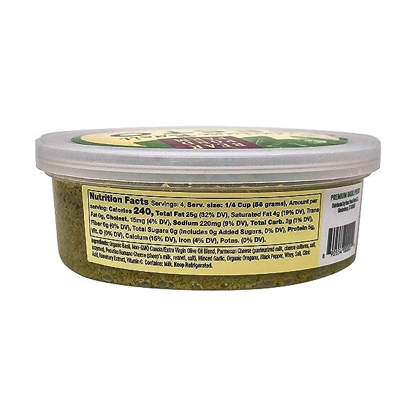 Premium Basil Pesto, 6.3 oz 2