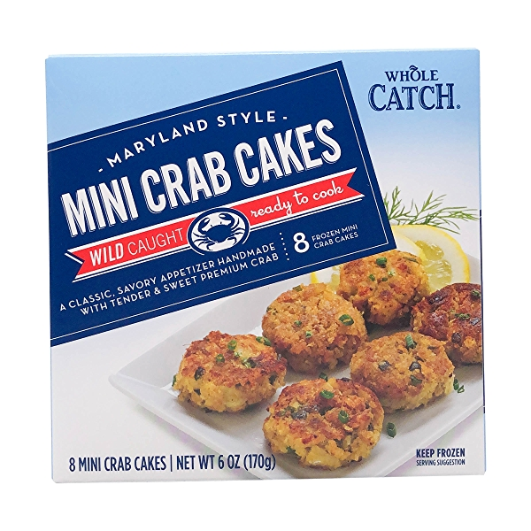 Maryland Style Mini Catch Crab Cakes 8 Count 1