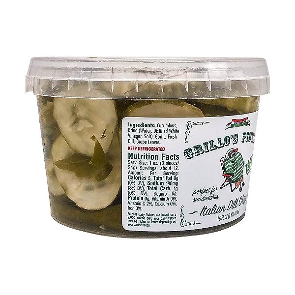 Italian Dill Chips, 16 fl oz 2
