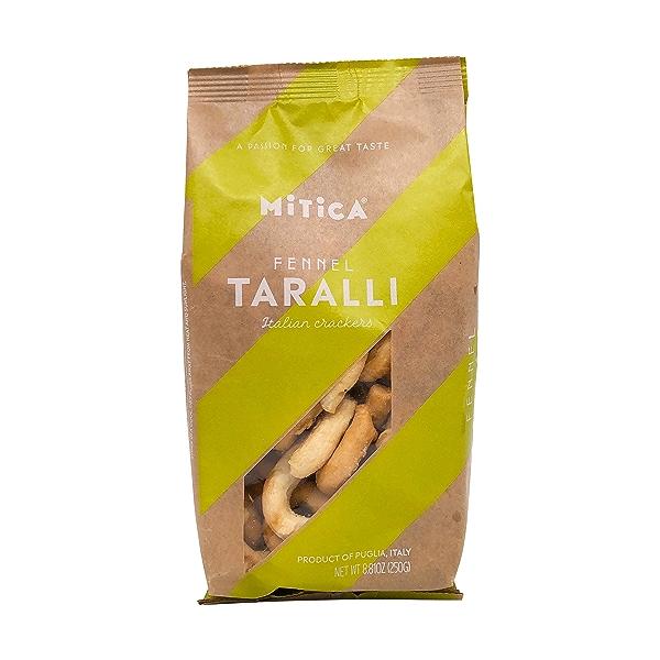 Taralli Con Semi Di Finocchio Crackers 1