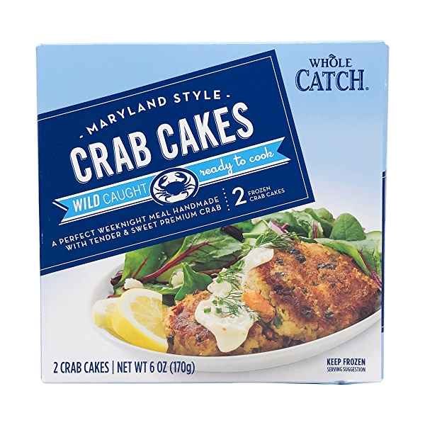 Maryland Style Crab Cakes 2 Count 1