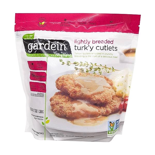 Lightly Breaded Turk'y Cutlets, 12.3 oz 1