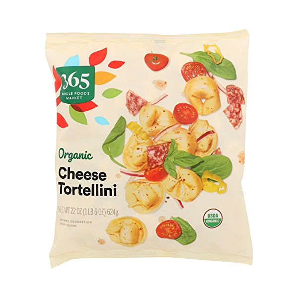 Frozen Organic Tortellini, Cheese 3