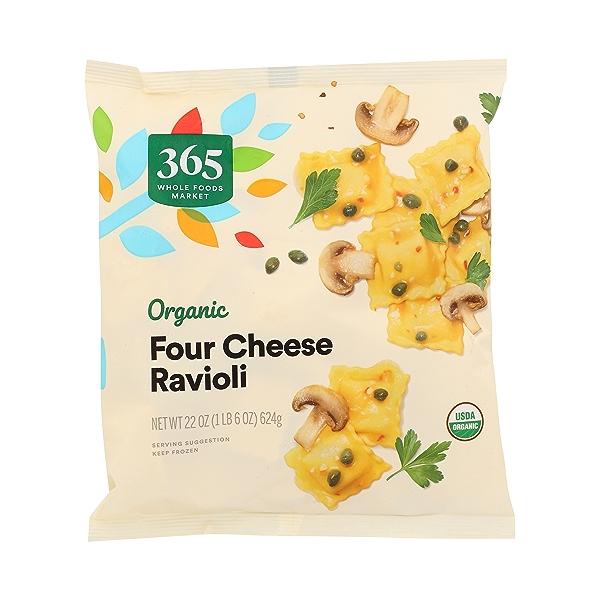 Frozen Organic Ravioli, Four Cheese 3