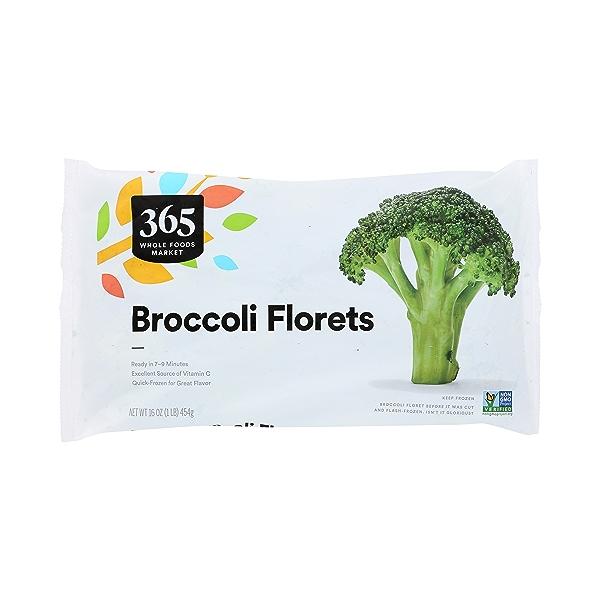 Frozen Vegetables, Broccoli Florets 3
