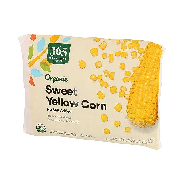 Frozen Organic Vegetables, Sweet Yellow Corn - No Salt Added 4