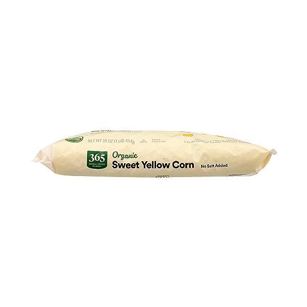Frozen Organic Vegetables, Sweet Yellow Corn - No Salt Added 9