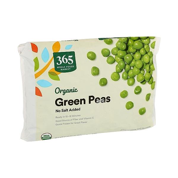 Frozen Organic Vegetables, Green Peas - No Salt Added 2