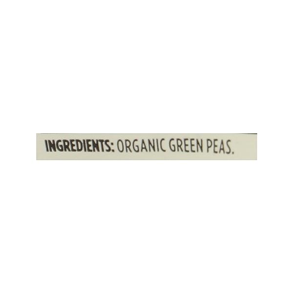 Frozen Organic Vegetables, Green Peas - No Salt Added 12