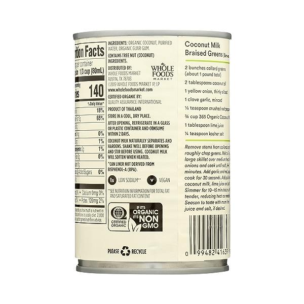 Organic Coconut Milk, 13.5 fl oz 7