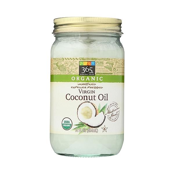 Expellar Pressed Coconut Oil, Virgin, 14 fl oz 1