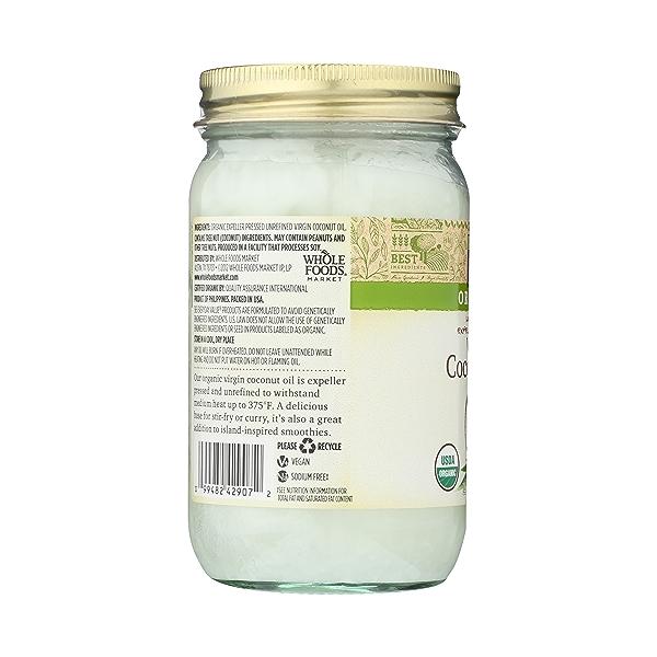 Expellar Pressed Coconut Oil, Virgin, 14 fl oz 4