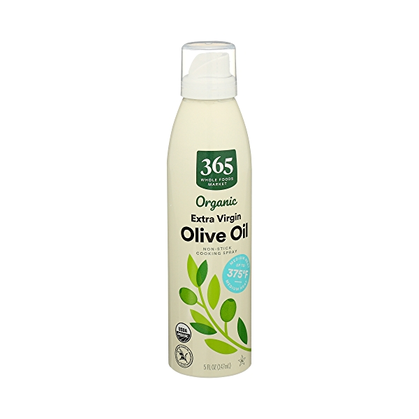 Organic Non-Stick Cooking Spray, Extra Virgin Olive Oil, 5 fl oz 2