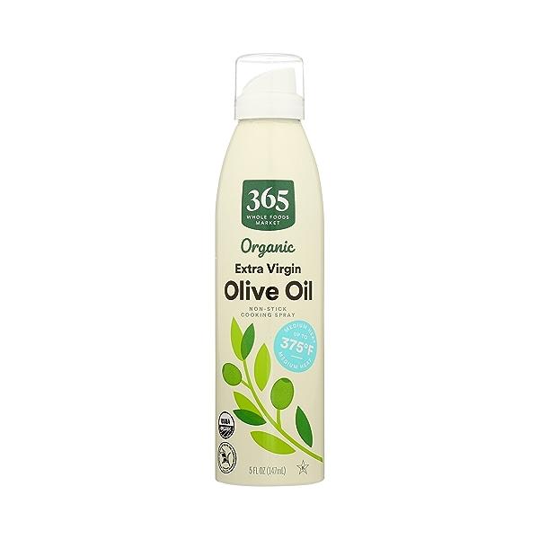 Organic Non-Stick Cooking Spray, Extra Virgin Olive Oil, 5 fl oz 3