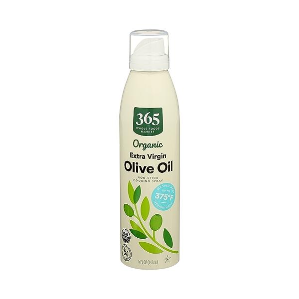 Organic Non-Stick Cooking Spray, Extra Virgin Olive Oil, 5 fl oz 1