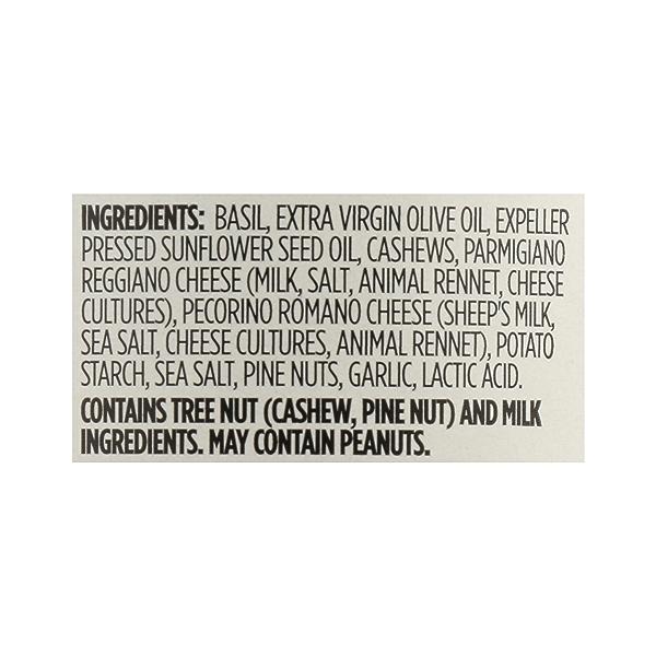 Basil Pesto, 6.5 oz 12