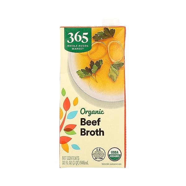 Organic Broth, Beef, 32 fl oz 3