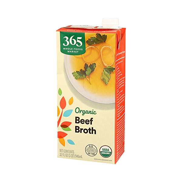 Organic Broth, Beef, 32 fl oz 4