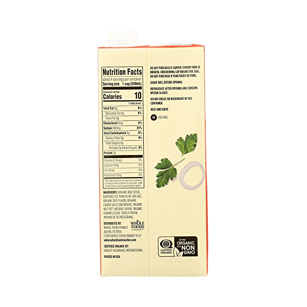 Organic Broth, Beef, 32 fl oz 7