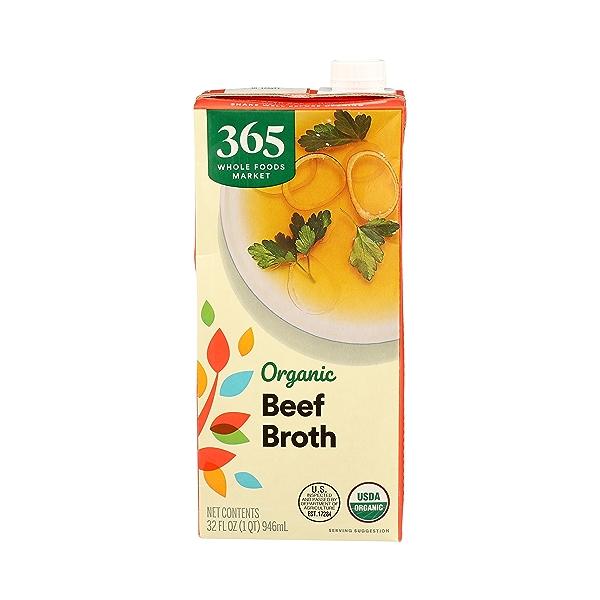 Organic Broth, Beef, 32 fl oz 1