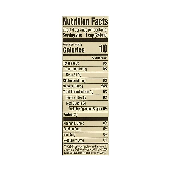 Organic Broth, Beef, 32 fl oz 10