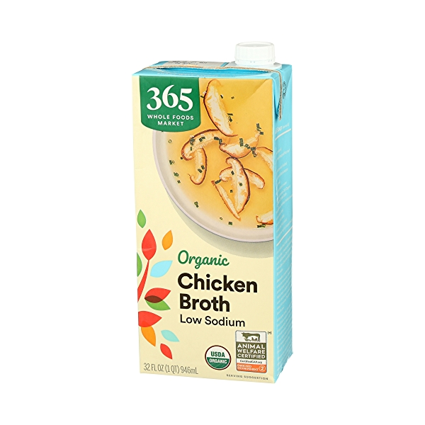 Organic Broth, Chicken - Low Sodium, 32 fl oz 4