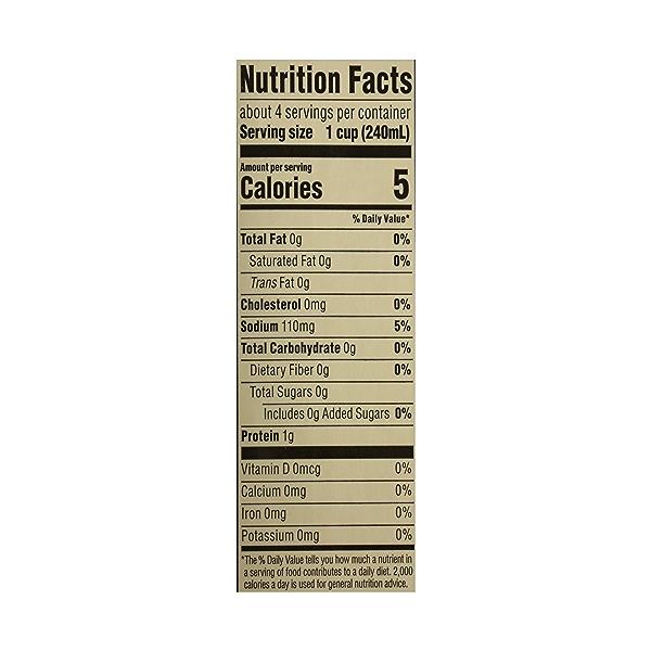 Organic Broth, Chicken - Low Sodium, 32 fl oz 10