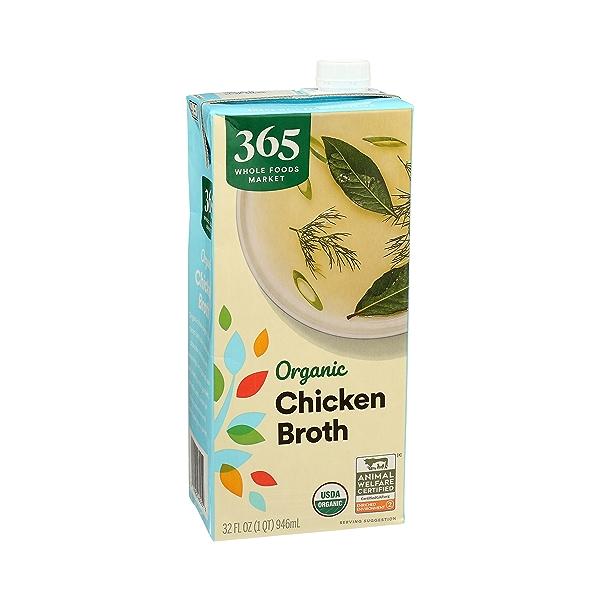 Organic Broth, Chicken, 32 fl oz 2