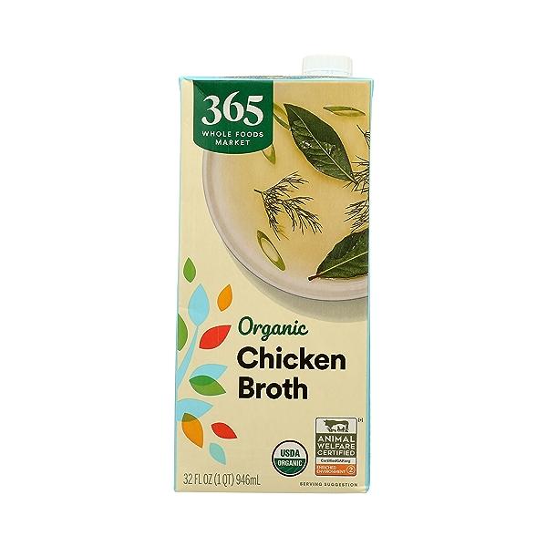 Organic Broth, Chicken, 32 fl oz 3
