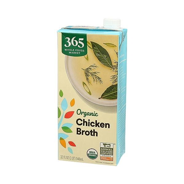 Organic Broth, Chicken, 32 fl oz 4