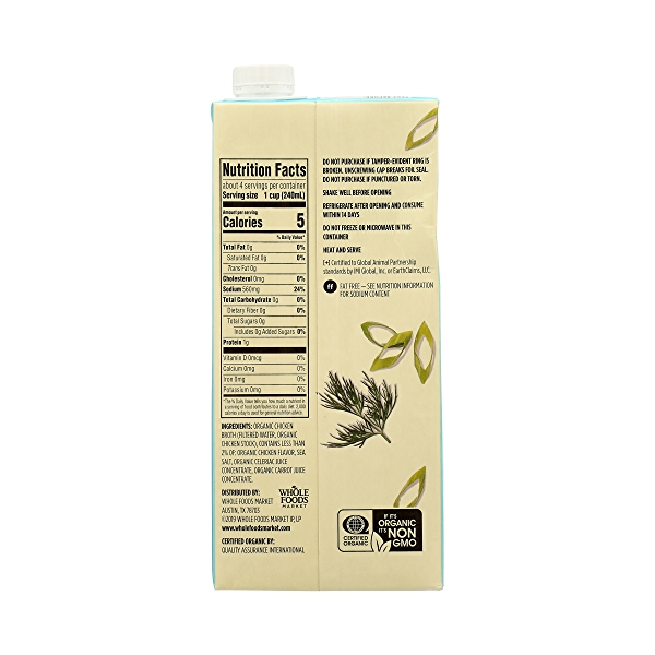 Organic Broth, Chicken, 32 fl oz 7
