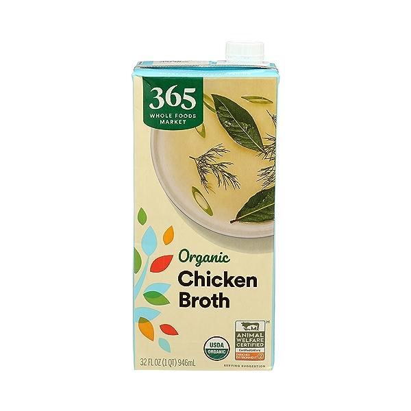 Organic Broth, Chicken, 32 fl oz 1