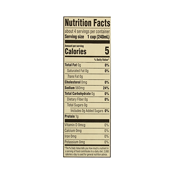 Organic Broth, Chicken, 32 fl oz 10