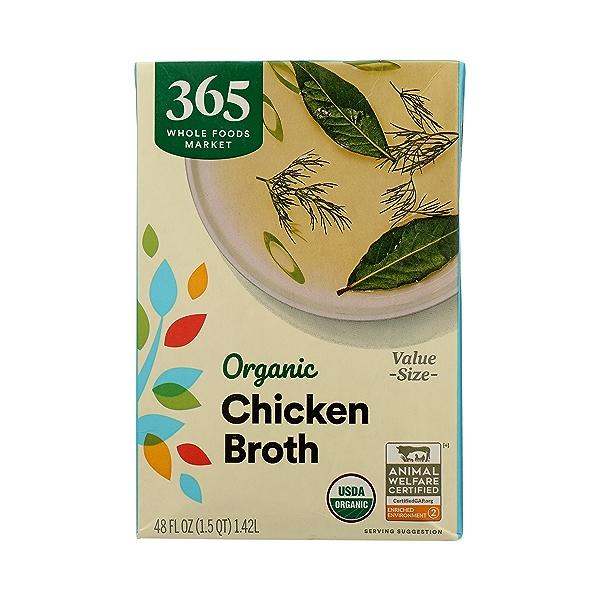 Organic Broth, Chicken Value Size, 48 fl oz 3