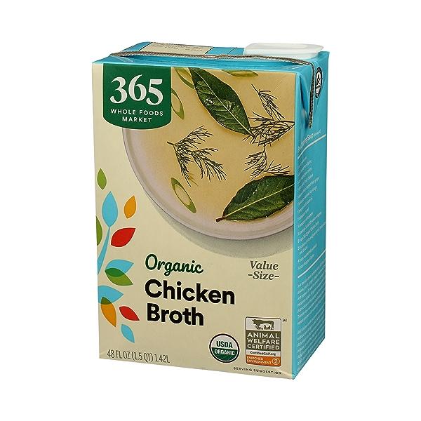 Organic Broth, Chicken Value Size, 48 fl oz 4