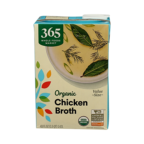 Organic Broth, Chicken Value Size, 48 fl oz 1